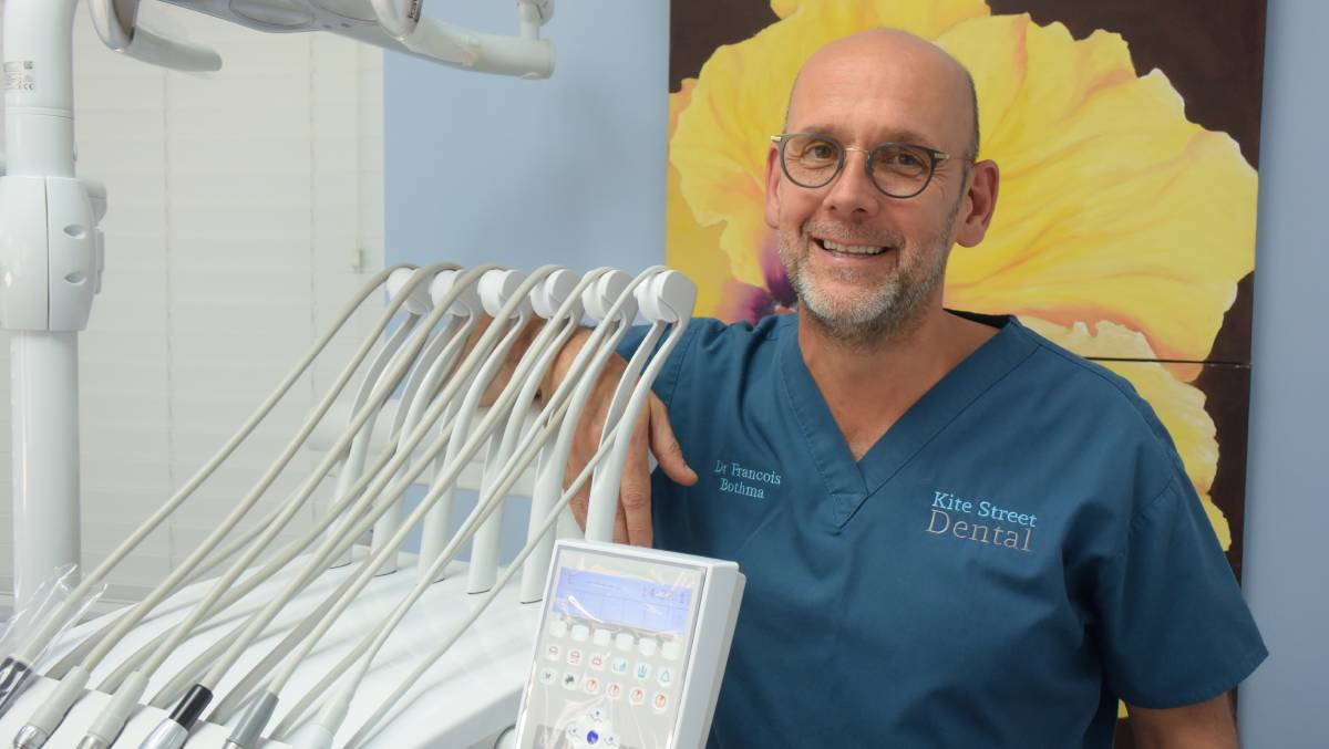 NOT SO SCARY: Orange dentist Dr Francois Bothma says prevention is better than cure.