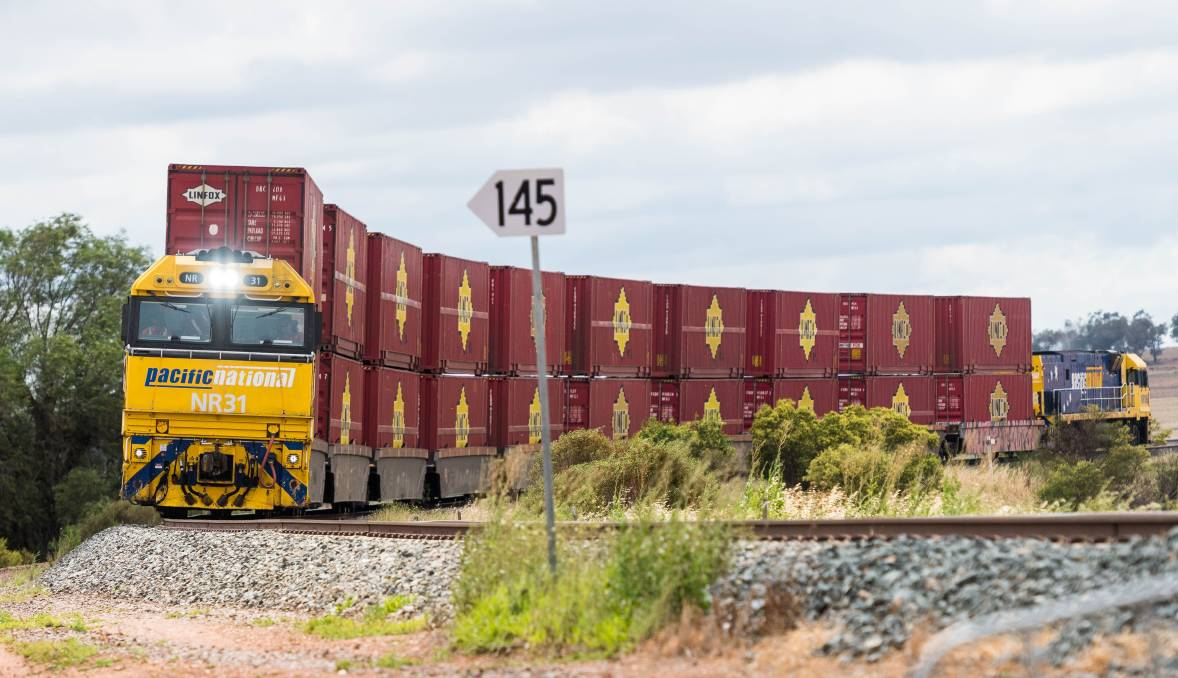 CRITICAL: Pacific National says NSW's rail freight infrastructure needs upgrading within the next four years to compete with the Inland Rail.