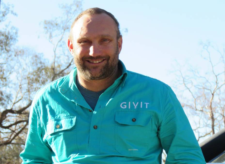 GIVIT NSW Drought Manager Scott Barrett. Photo: Supplied.