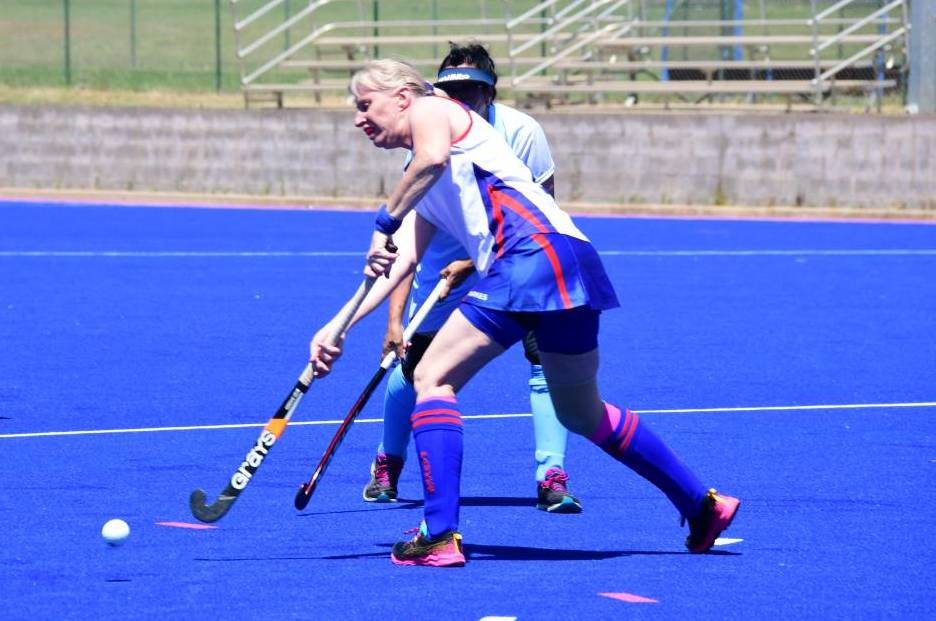 MASTERS SET TO RETURN: Mandy Westcott has had a strong preseason and is ready for a big game this Sunday. Photo: Amy Soole.