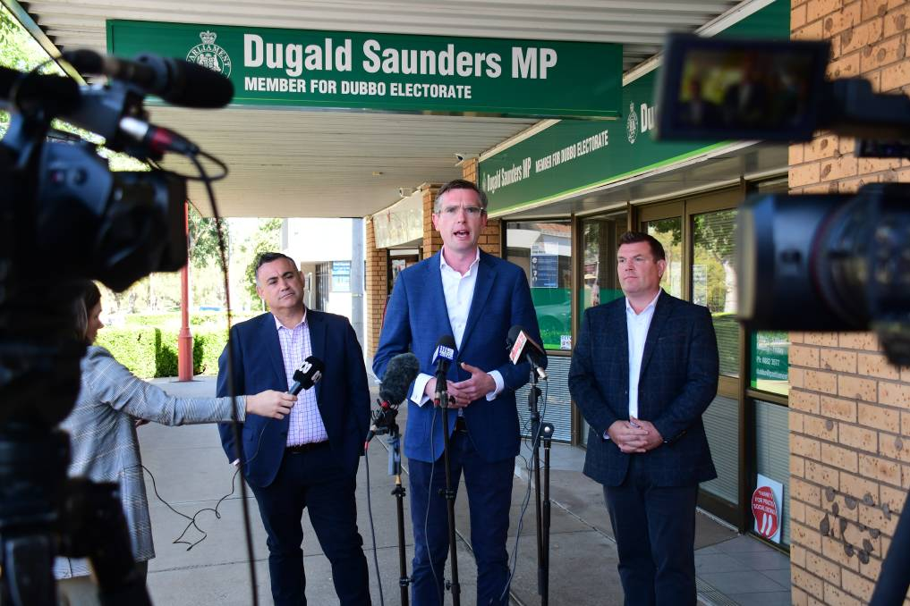 Member for Dubbo Dugald Saunders MP welcomed the announcement of the Out and About scheme, calling it a 'massive boost' for the businesses that will be able to opt-in to the program.