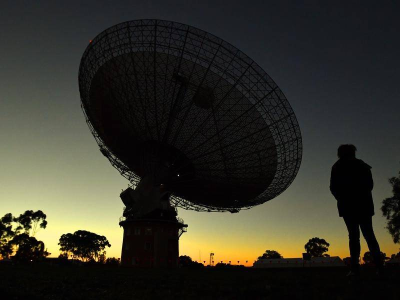 The Parkes radio telescope played a key role in the 1969 Apollo 11 mission to the moon.