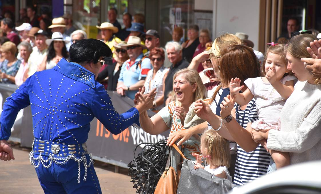 POPULAR: Scenes from the 2020 Parkes Elvis Festival in January.