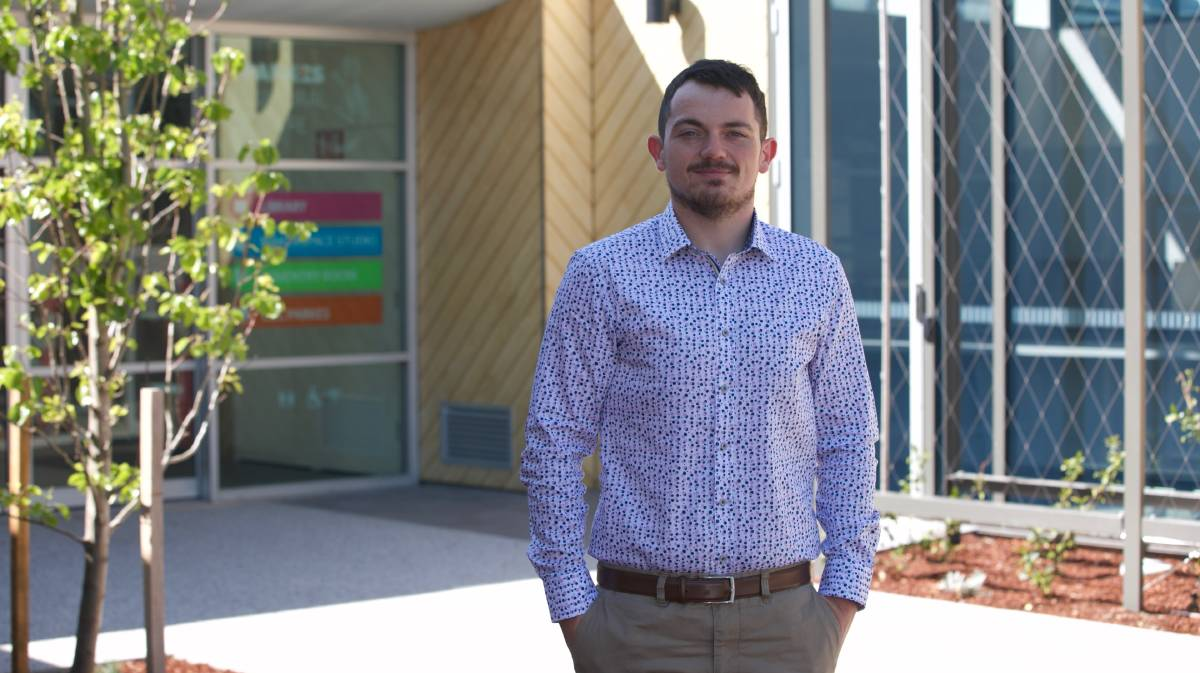 NEW ROLE: Parkes man Jacob Cass has been appointed the Parkes Country Universities Centre manager and started in the new role on Monday. Photo: Submitted