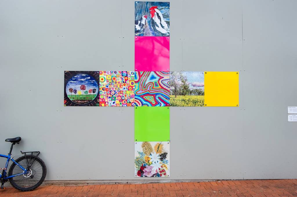 LAUNCH: The Parkes Shire Community Wall will soon come alive with vibrant artwork by local youth, with the official launch taking place Wednesday.